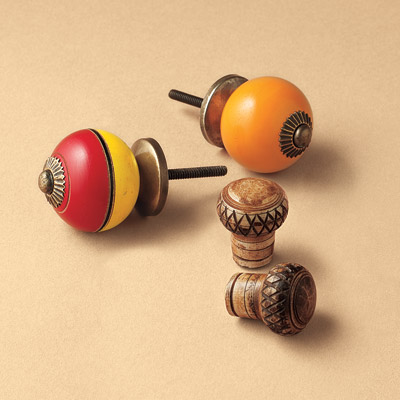 recycled decorative knobs
