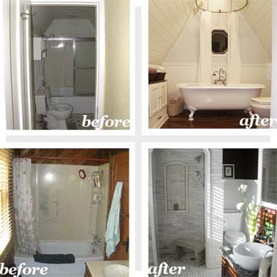 Your time to shine best bath before and afters 2010 this old house - S bathroom remodel before and after ...