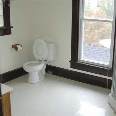 bare bathroom