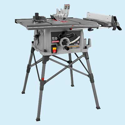 Portable Craftsman 28462 Tool Test Table Saws This Old House