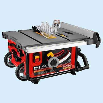 Portable Craftsman 21828 Tool Test Table Saws This Old House