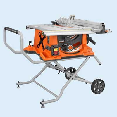 ridgid portable table saw