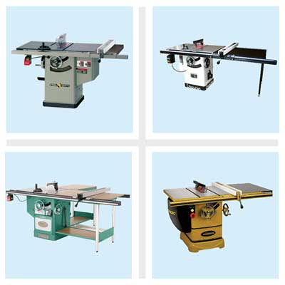 four cabinet table saws