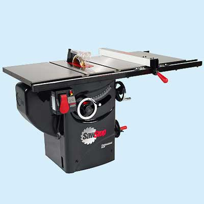 sawstop cabinet table saw