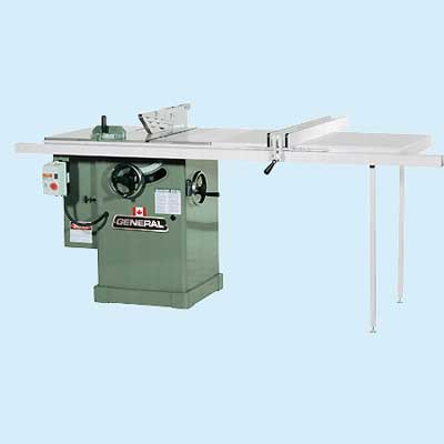 general cabinet table saw