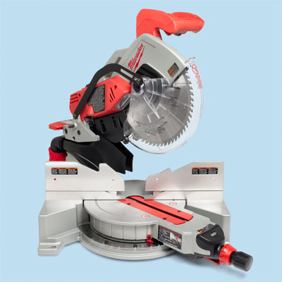 compound miter saw by Milwaukee to compare for tool test