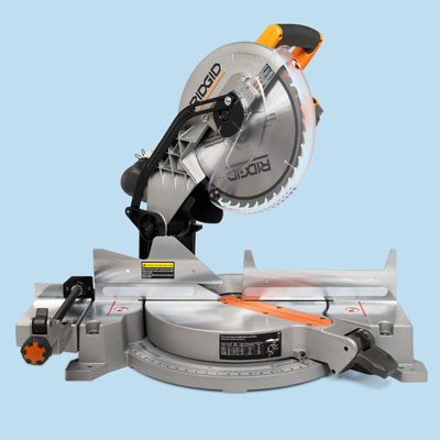 compound miter saw by Ridgid to compare for tool test