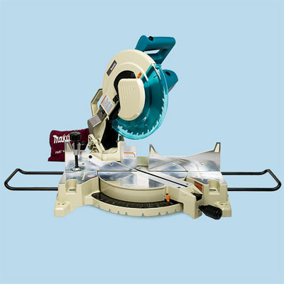 compound miter saw by Makita to compare for tool test