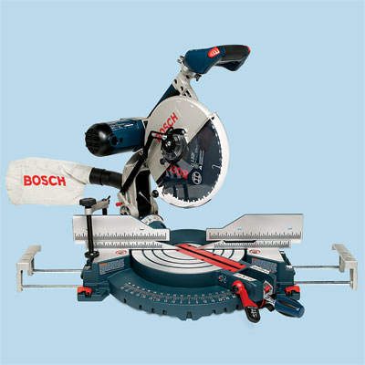 compound miter saw by Bosch to compare for tool test