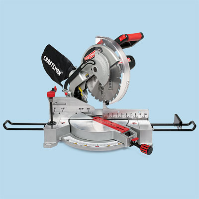 compound miter saw by Craftsman to compare for tool test