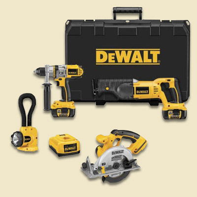 dewalt tool combo kit