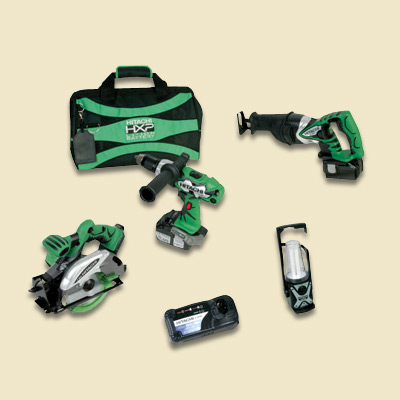 hitachi tool combo kit
