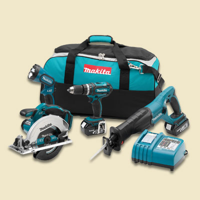 makita tool combo kit