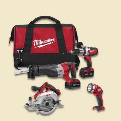 milwaukee tool combo kit