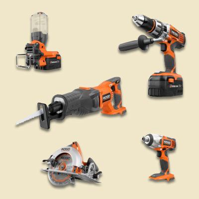 ridgid tool combo kit