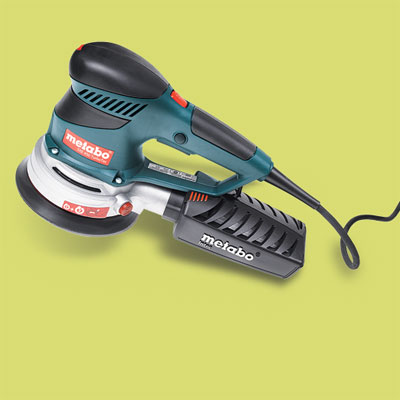 a Metabo random orbit sander