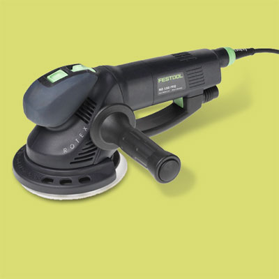 a Festool random orbit sander