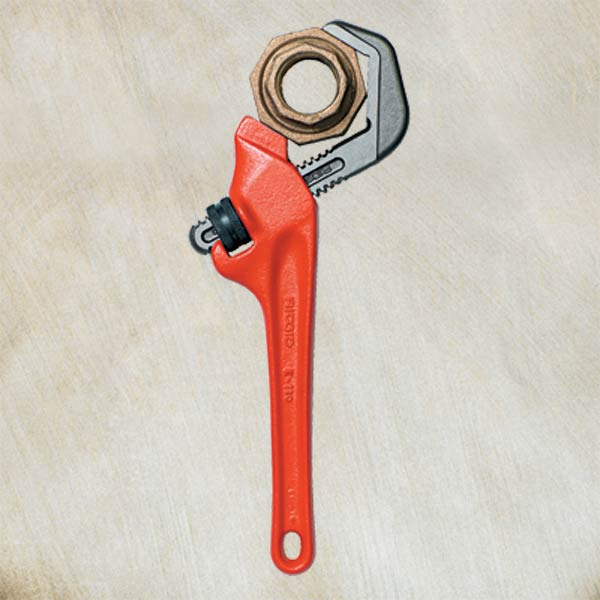 cast-iron plumbing wrench