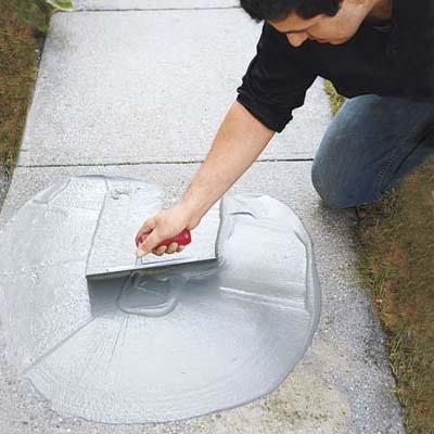 Resurface a Worn Concrete Driveway