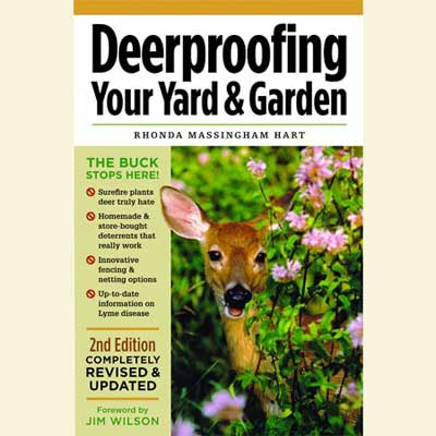 cover image of deer proofing your yard and garden by rhonda massingham hart