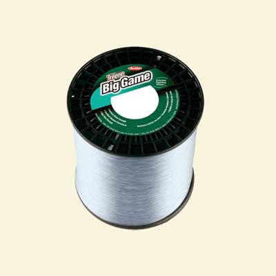 spool of berkley's trilene big game monofilament line