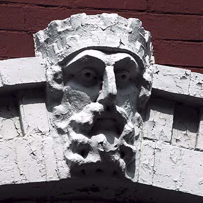 Gargoyle in Hoboken, NJ