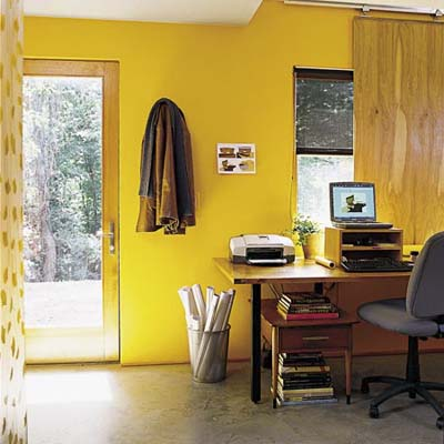 home office in eco-home