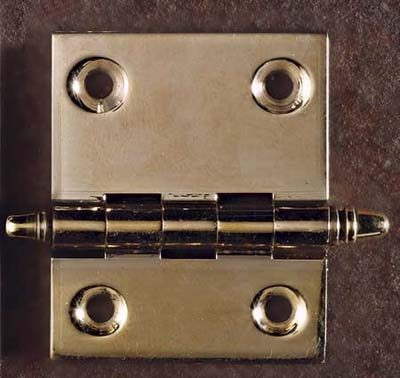 clock case hinge