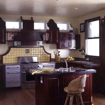 kitchen in Key Largo eco-friendly house