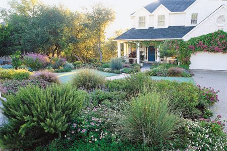 Major Curb Appeal | Lawn-Less Yard Solutions | This Old House