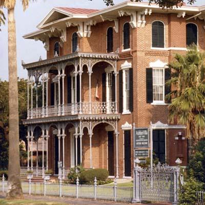 ashton villa haunted historical house in texas