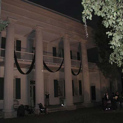 haunted historical house, The Hermitage in Nashville, Tennessee