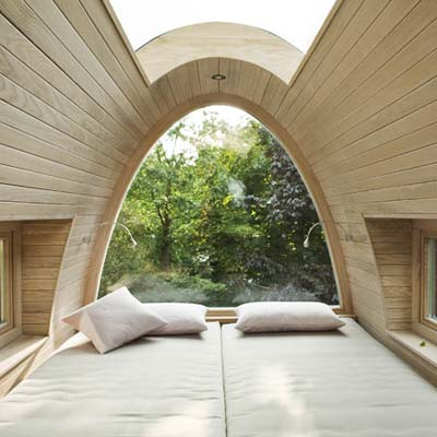 froschkoenig tree house built by baumraum tree house designers in germany