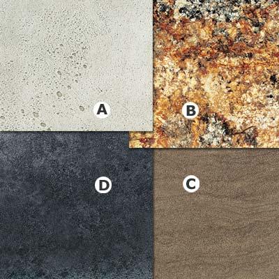 examples of stone laminate