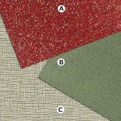 examples of fabric look laminate