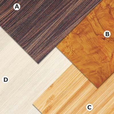 examples of wood grain look laminate