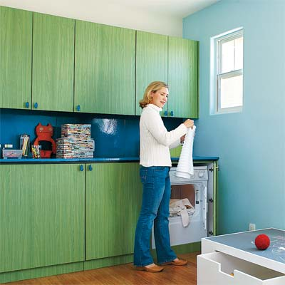 example of laminate used on cabinets