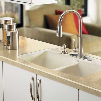 example of new sink for laminates