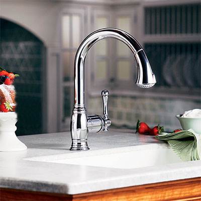 one-handle body-type kitchen faucet
