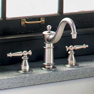 two-handle body-type kitchen faucet