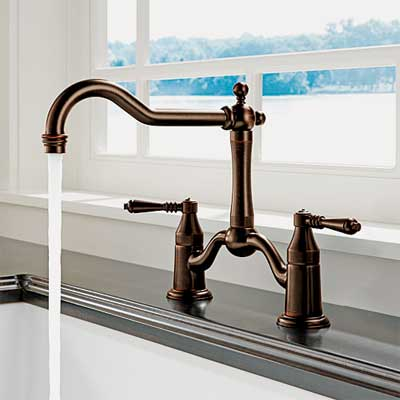 shepherd's crook spout style kitchen faucet