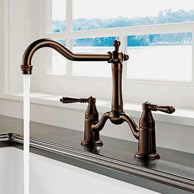 shepherd's crook spout style kitchen faucet