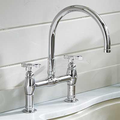 deck-mount style kitchen faucet