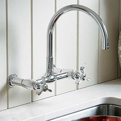 wall-mount style kitchen faucet