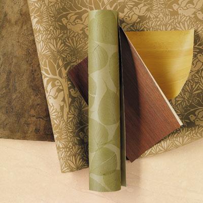 wallpapers made of natural materials
