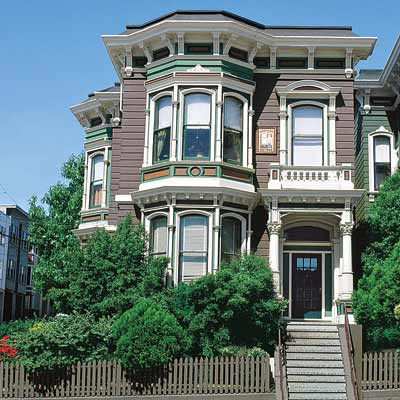 repainted san francisco townhouse with curb appeal