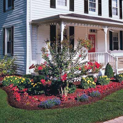 Landscaping how to get the best curb appeal on the block for Farm house landscaping