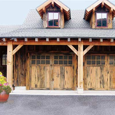Style Rustic All About Garage Doors This Old House