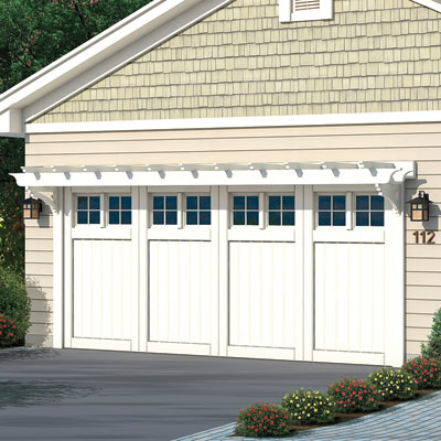 Garage door of the Elsen redo