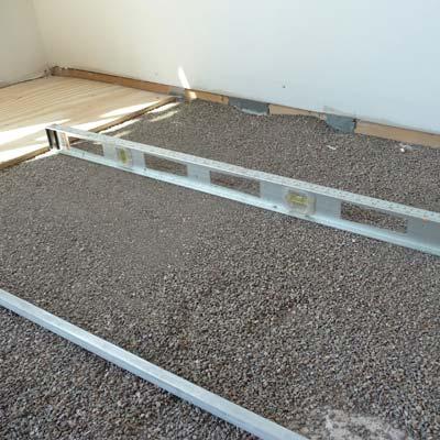 floors leveled with kitty litter for money saving reader remodel